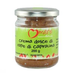 crema dolce di rape di caprauna